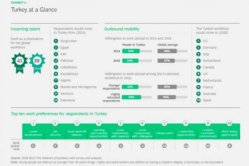 Analyzing and Identifying Turkey in the Concept of Brain Drain Turkey at a Glance